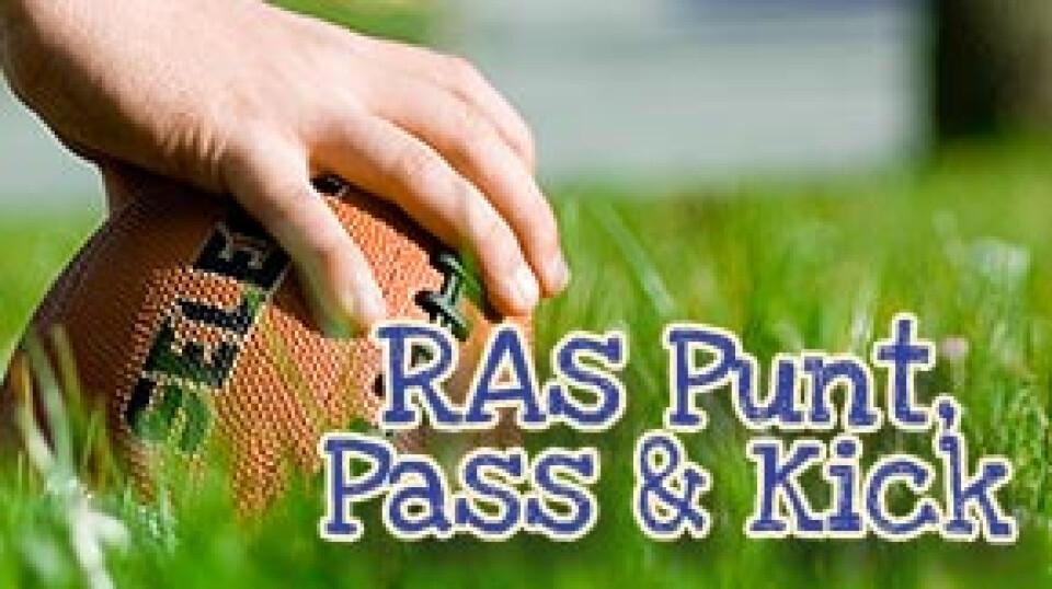 RA Punt Pass and Kick