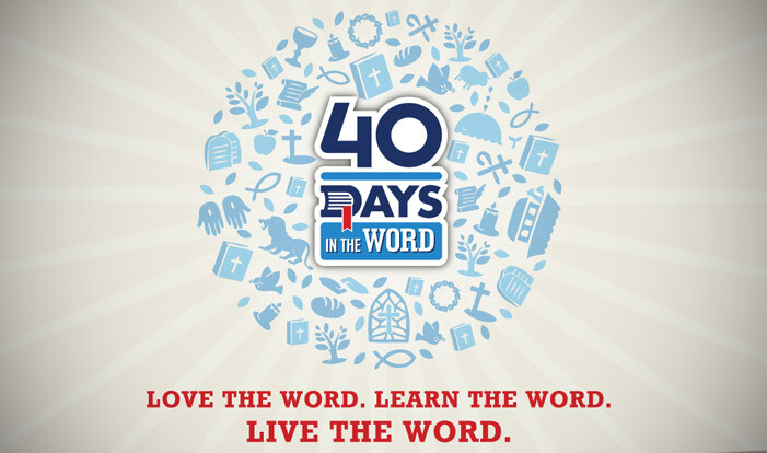 40 Days in the Word