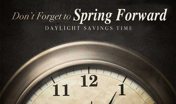 Spring Forward Saturday night