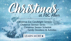 Christmas at FBC Allen