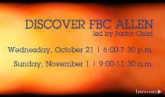 Discover FBC Allen