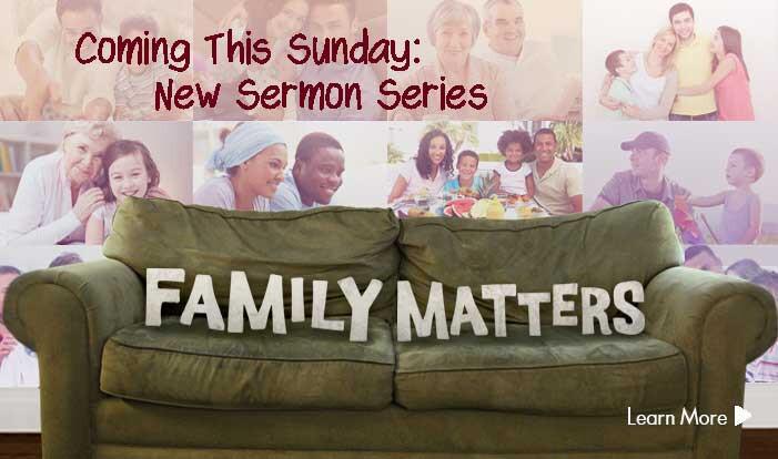 New Sermon Series Starting Soon