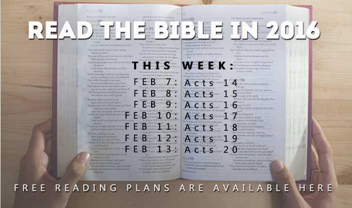 Let's Read the Bible