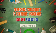 Preschool, Children & Student Programs Return