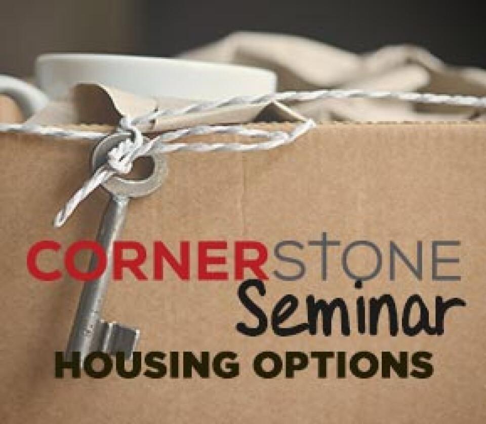 Cornerstone Seminar: Senior Housing 101