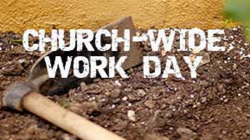 Church-wide Work Day