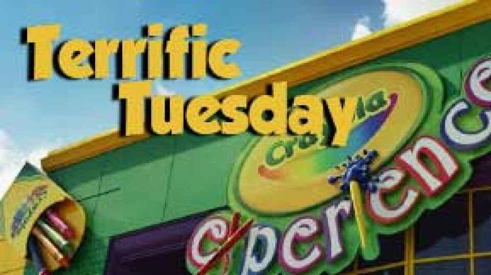 Terrific Tuesday: Crayola Experience