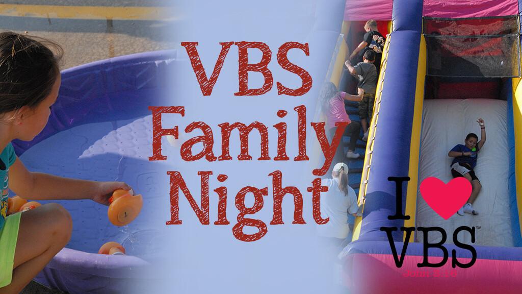 VBS Family Night Carnival & Worship Rally