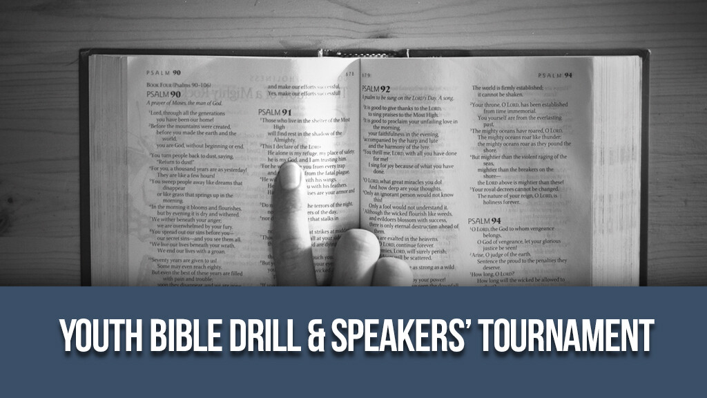 Youth Bible Drill/Speakers Interest Meeting