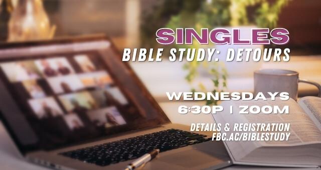 Co-Ed Singles Bible Study (Online)
