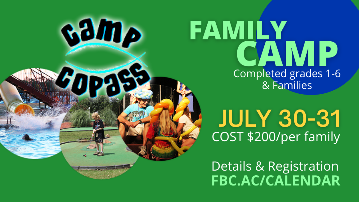 Family Camp (Grades 1-6 & Families)